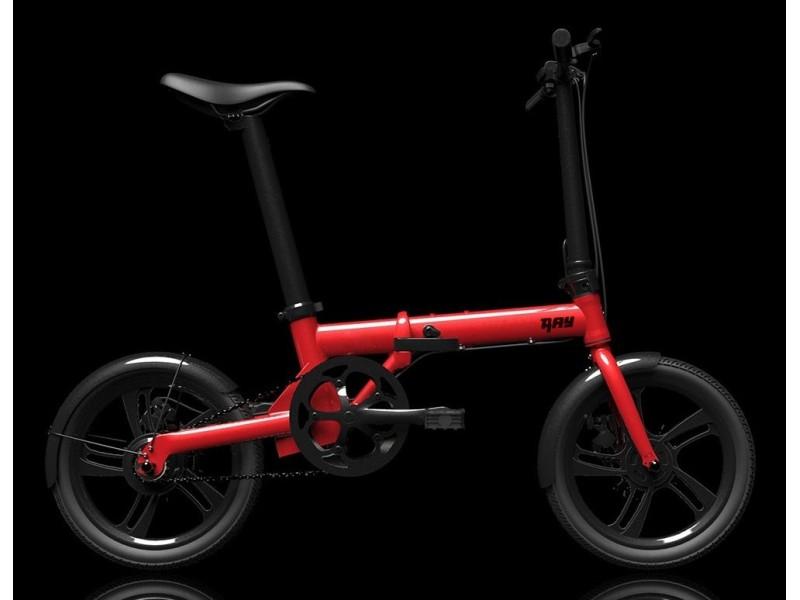 Bicicleta Plegable Electrica Ray