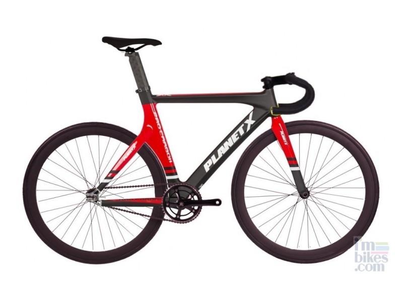 Bicicleta Fixie Velodromo Planet X Pro Carbon