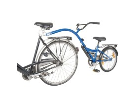 "REMOLQUE POINT BICI NIÑO TRAILER BIKE 20"" AZUL"