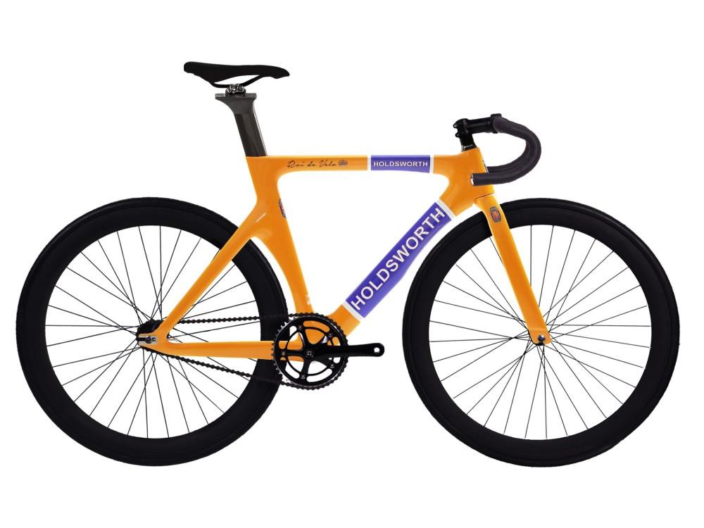 Bicicleta Fixie Pista Holdsworth Roi De Velo Carbono